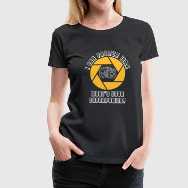Camera Photography Photographer SLR Gift - Women's Premium T-Shirt