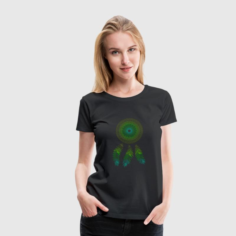 Mandala dream catcher - Women's Premium T-Shirt