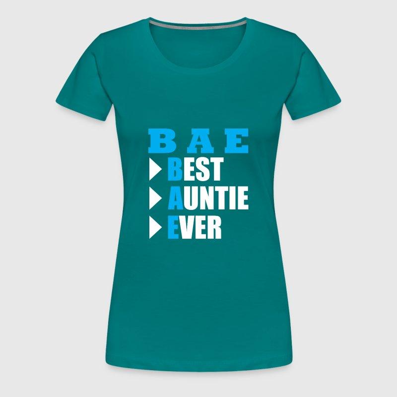 BAE - Mejor tía nunca - regalo de la tía camiseta por RayDesign ...
