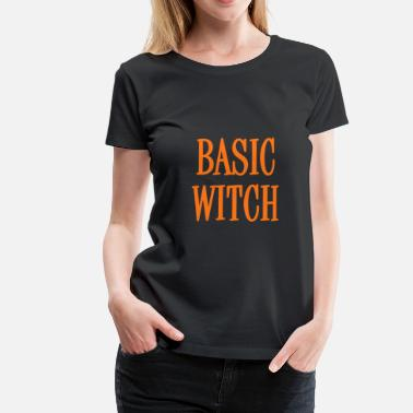Cheap Trick Basic Witch Orange - Camiseta premium mujer