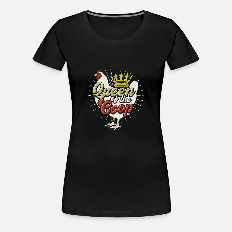 Da Contadino Pollo Shirt Of T Queen Maglietta Coop The 8vwm0Nn