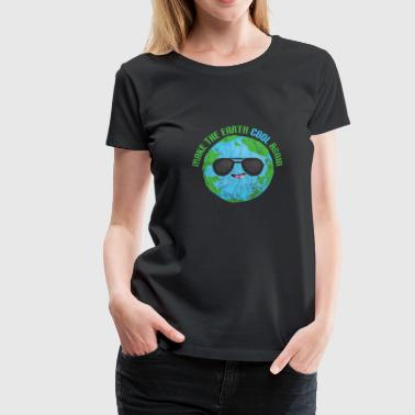Change Climate Gift Saying Climate Change Planet Earth CO2 - Women's Premium T-Shirt