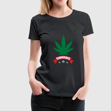 Cannabis gift for stoners and freethinkers - Women's Premium T-Shirt