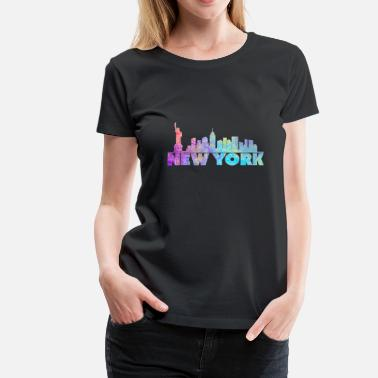 York new York - Women's Premium T-Shirt