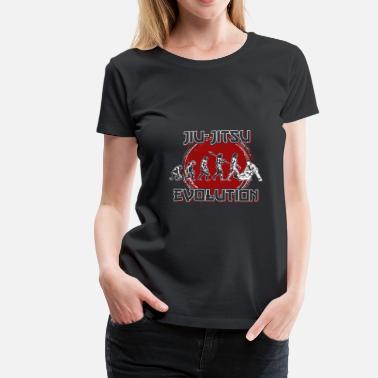 66b358ad2c Jiu Jitsu Evolución Jiu Jitsu - Camiseta premium mujer