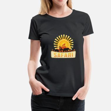Dyreplejer safari - Dame premium T-shirt