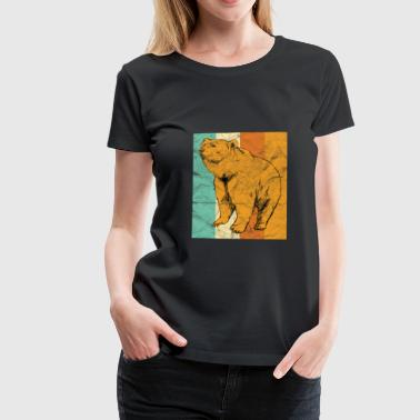 Animal gift bear - Women's Premium T-Shirt