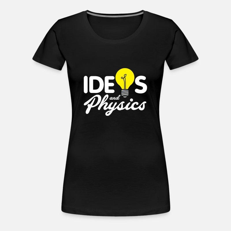 Ideen und Physik Weihnachten Geschenk Nerd von Bestseller Shirts ...