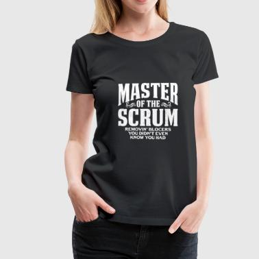 Agil Funny Scrum Master T-Shirt Fathers Day Gift Shirt - Frauen Premium T-Shirt