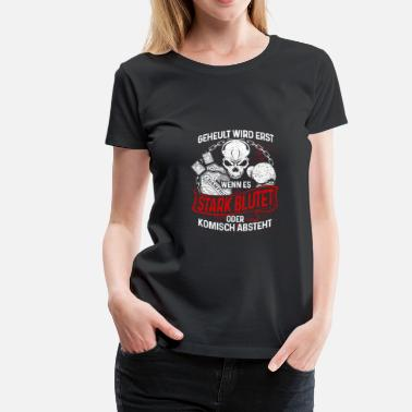 Bleed Out Boxing boxers do not howl - Women's Premium T-Shirt