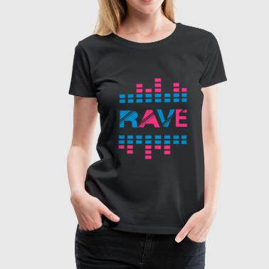 rave sound bar 2 - Women's Premium T-Shirt