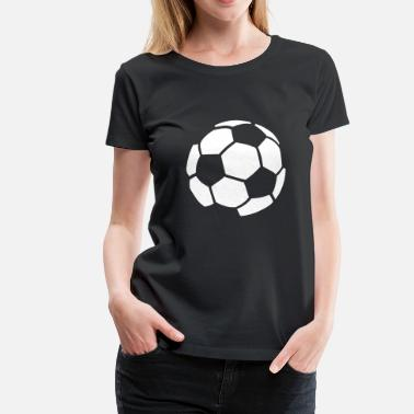 Soccer Ball Soccer Ball - Women's Premium T-Shirt