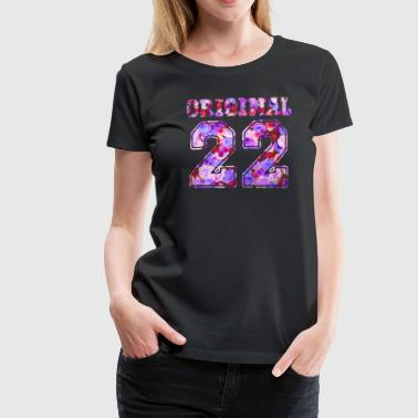 22 - Birthday Present Bday - Frauen Premium T-Shirt