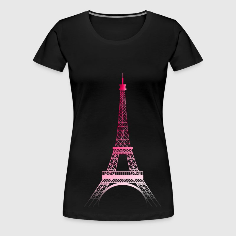 Tour Eiffel PARIS (rose) - Women's Premium T-Shirt