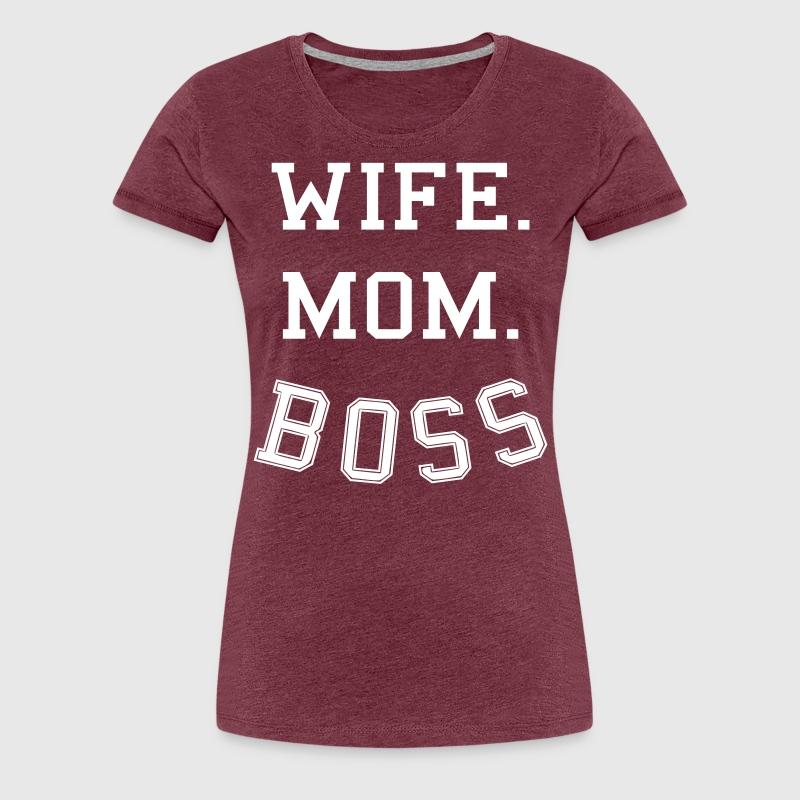 Ehefrau Mutter Chefin - wife mom boss von Geschenke-sylltra ...
