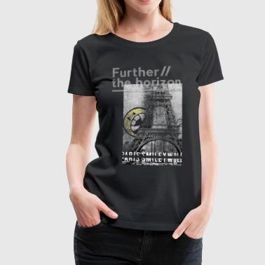 Smileyworld 'Paris Further the horizon' - Camiseta premium mujer