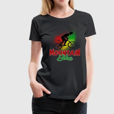 Wheels Mountain biking - Women's Premium T-Shirt