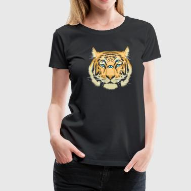Tiger Spirit Guide - Frauen Premium T-Shirt