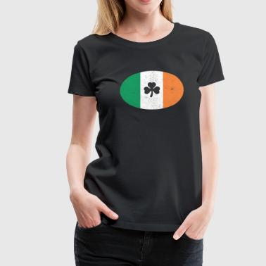 Irish Oval - Women's Premium T-Shirt