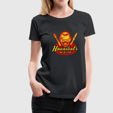 Hannibal's, distressed - Women's Premium T-Shirt
