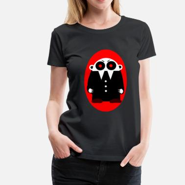 Manson Nofi - the Vampire (Ellipse)  - Frauen Premium T-Shirt