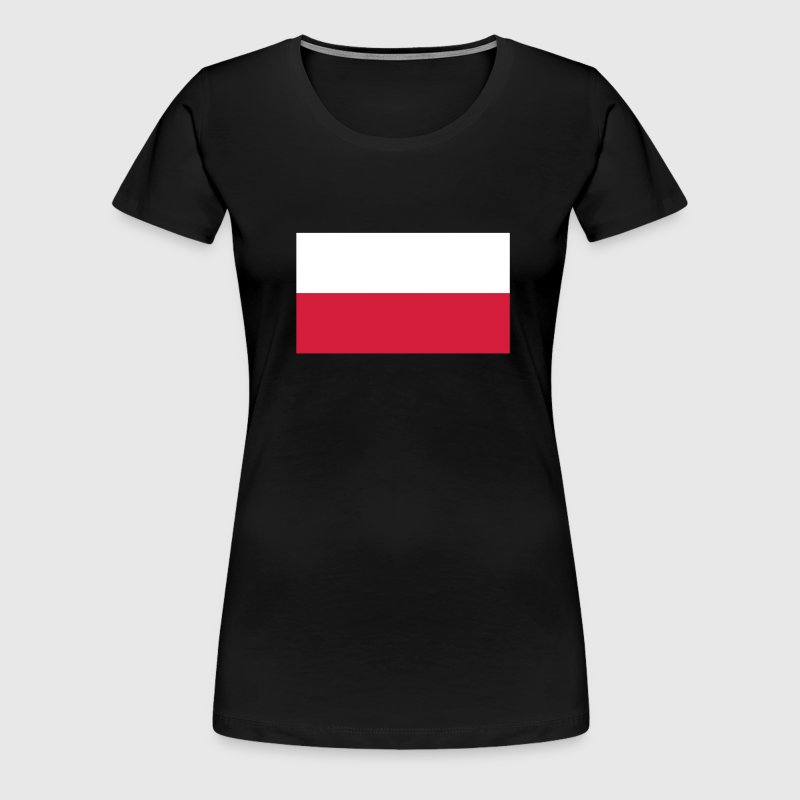 Polish Flag - Frauen Premium T-Shirt