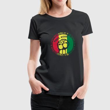 unity reggae in the world - Premium T-skjorte for kvinner