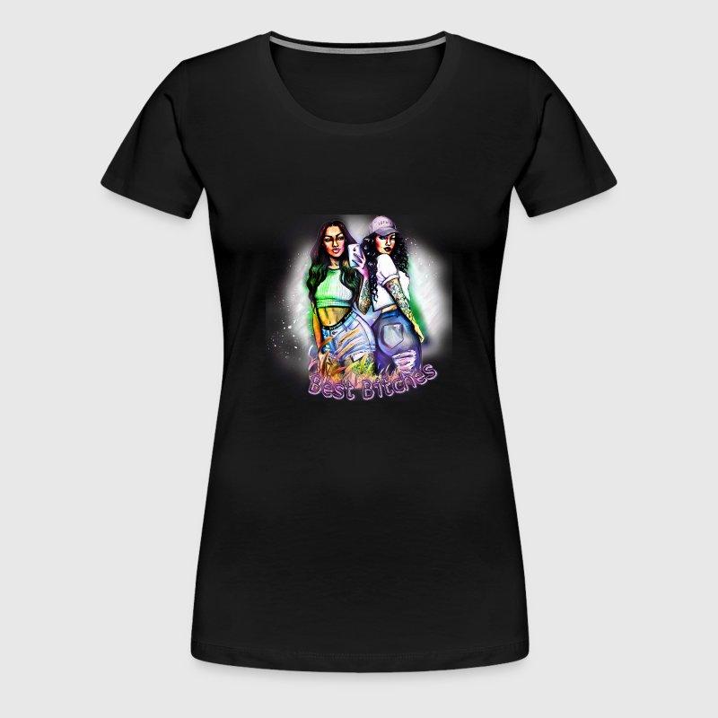 Best Bitches Beste Freundin Design von Unique-Design   Spreadshirt