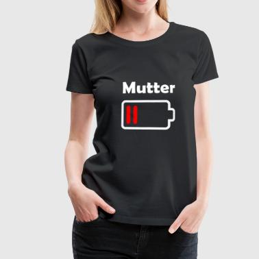 Mutter Power | Kinder - Geschenkidee - Frauen Premium T-Shirt