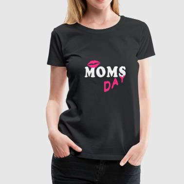 Moms Day Women Party Group Fira present - Premium-T-shirt dam