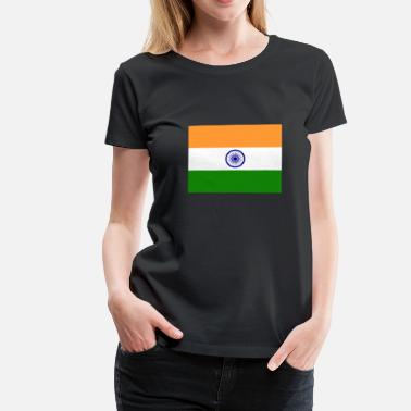 India Flag Flag of India (in) - Women's Premium T-Shirt