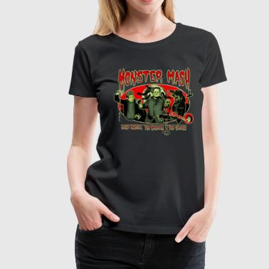 Monster Mash - Frauen Premium T-Shirt