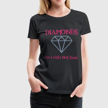 Diamonds! - Women's Premium T-Shirt