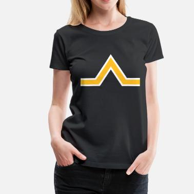 Triangle Sign triangle sign - Women's Premium T-Shirt