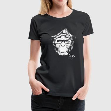 Ironic Chimp - Darks - Women's Premium T-Shirt