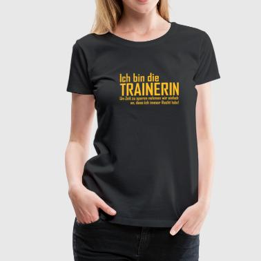 Trainerin - Frauen Premium T-Shirt