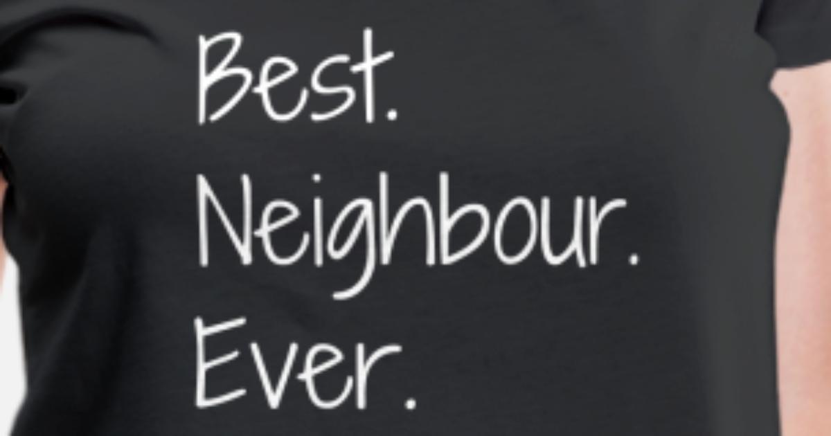 Nachbar / Nachbarschaft / Nachbarin / Haus von Funky Art | Spreadshirt