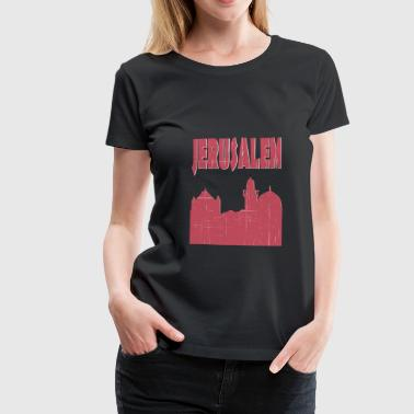 Jerusalem City - Women's Premium T-Shirt