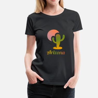 Arizona Arizona - Frauen Premium T-Shirt