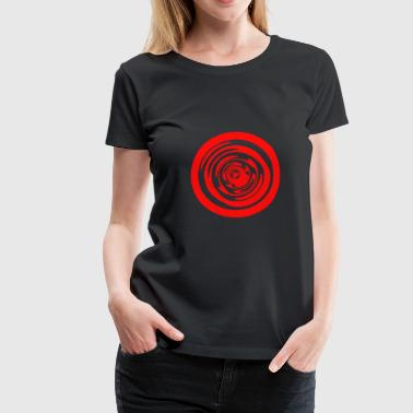 circle trippy - Women's Premium T-Shirt