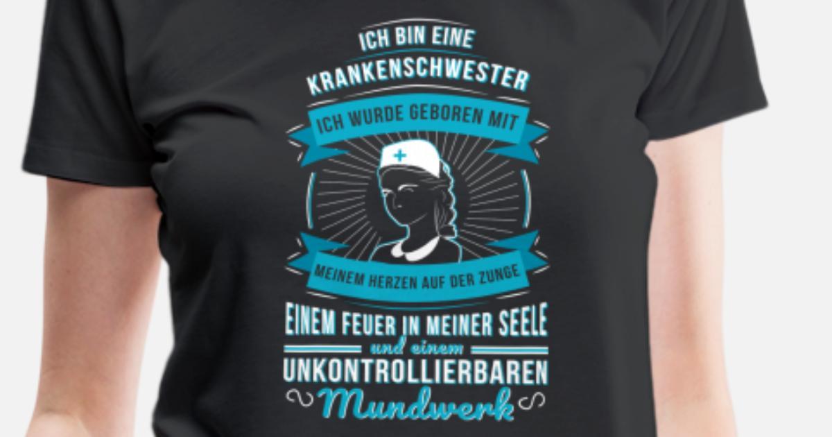 Tshirt Krankenschwester Geschenk Weihnachten Frau von creativework ...