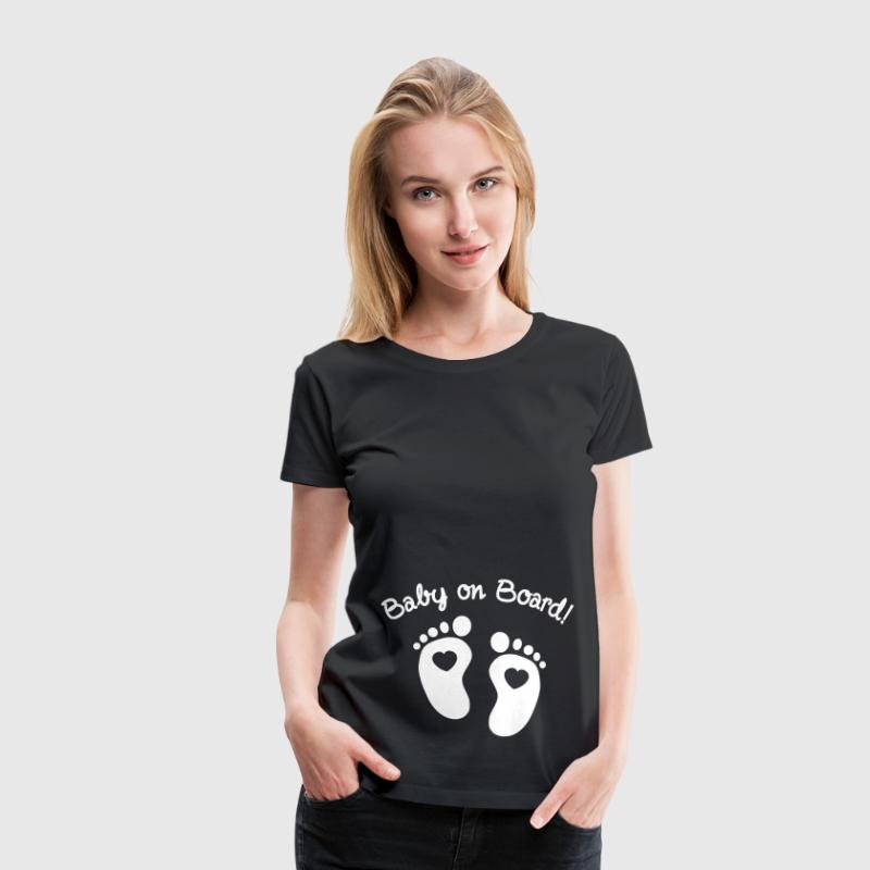 baby on board - Vrouwen Premium T-shirt