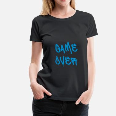 Ordinateur Game Over Game Over - T-shirt Premium Femme