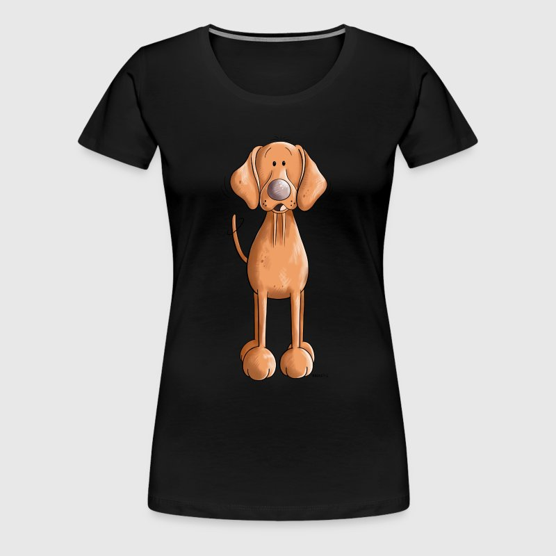 Happy Vizsla - Women's Premium T-Shirt