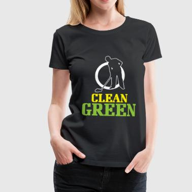 Caretaker Environmentally conscious - Women's Premium T-Shirt