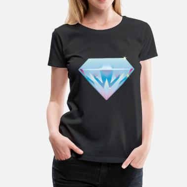 Diamond Supply diamond - Frauen Premium T-Shirt