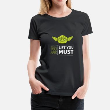 Yoda Quote Yoda saying - Women's Premium T-Shirt