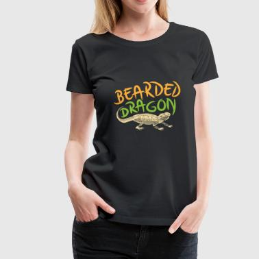 Bearded Dragon Shirt - Women's Premium T-Shirt