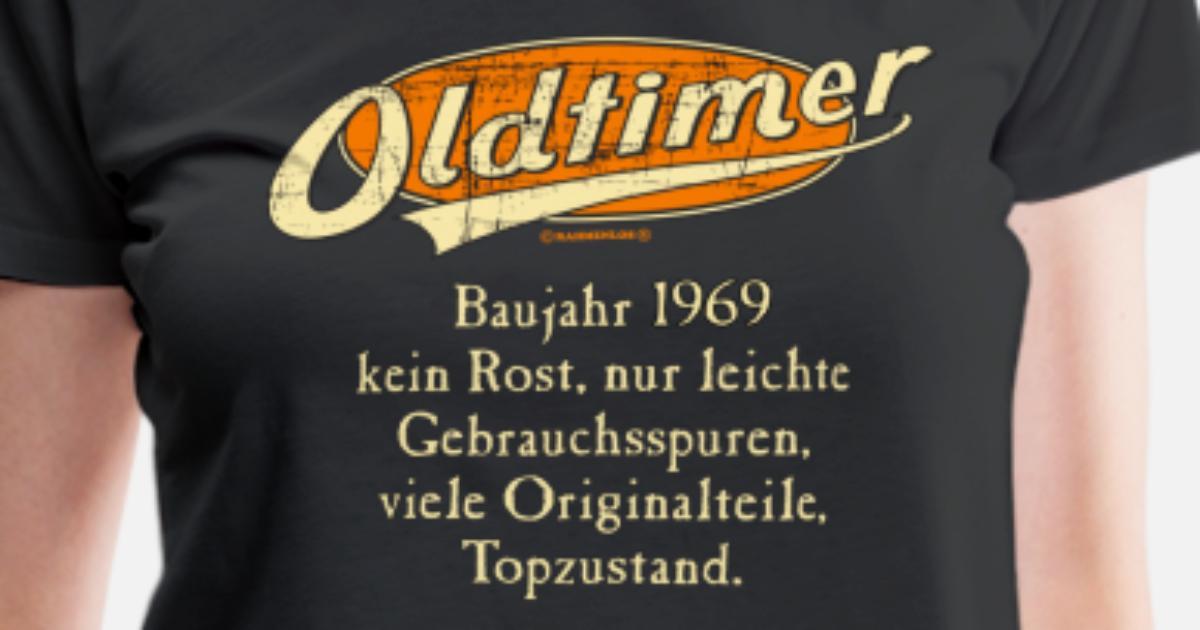 Fun T-Shirt Baujahr 1959 Oldtimer kein Rost Grössen S-M-L-XL-XXL