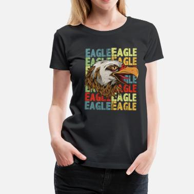 Ørnehoved Eagle Eagle Head Gift - Dame premium T-shirt